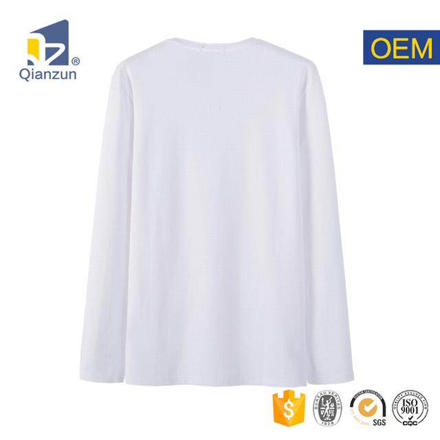 xxxl bulk wholesale promotional long sleeve stripes all over plain v neck white print t shirt women