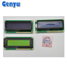 STN FSTN 16 Character x 2 Line LCD Module With PCB 1602 LCM display 16x2