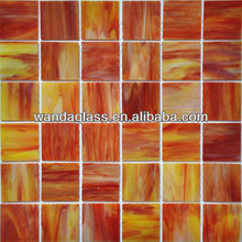 cut stained glass mosaic tile 3mm tiffany galss