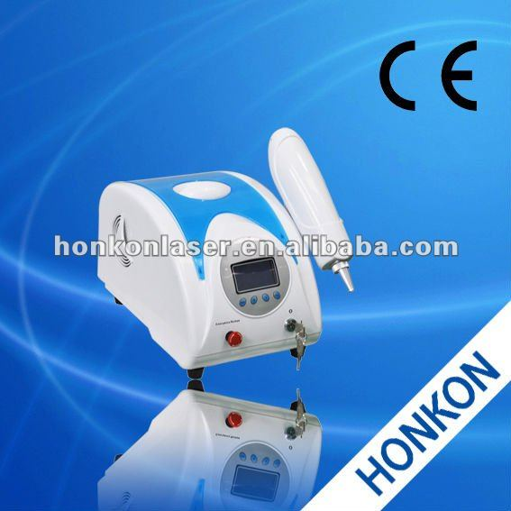 Home use Q-Switched ND:YAG Laser machine Tattoo removal pigments removal skin toning machine