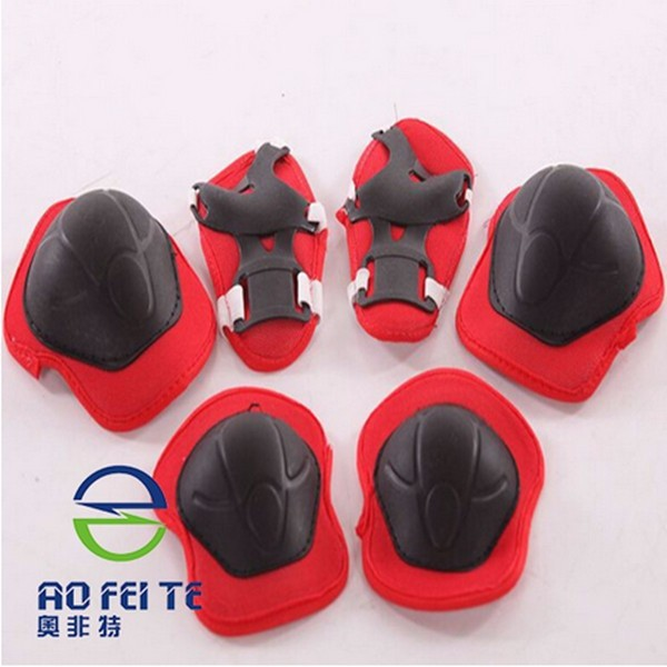 High Quality kids bike riding protection skate knee pads 6 pcs suit ski skate protector