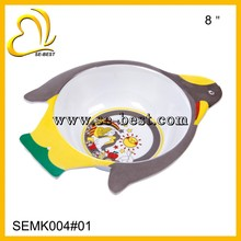 Bird shape melamine food bowl for kids