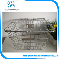 Factory supply bike basket with lids/Bike Bicycle basket with cover