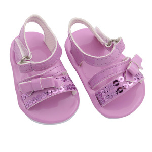 MISU Brands Doll 18-inch summer sandals. Factory price doll shoes