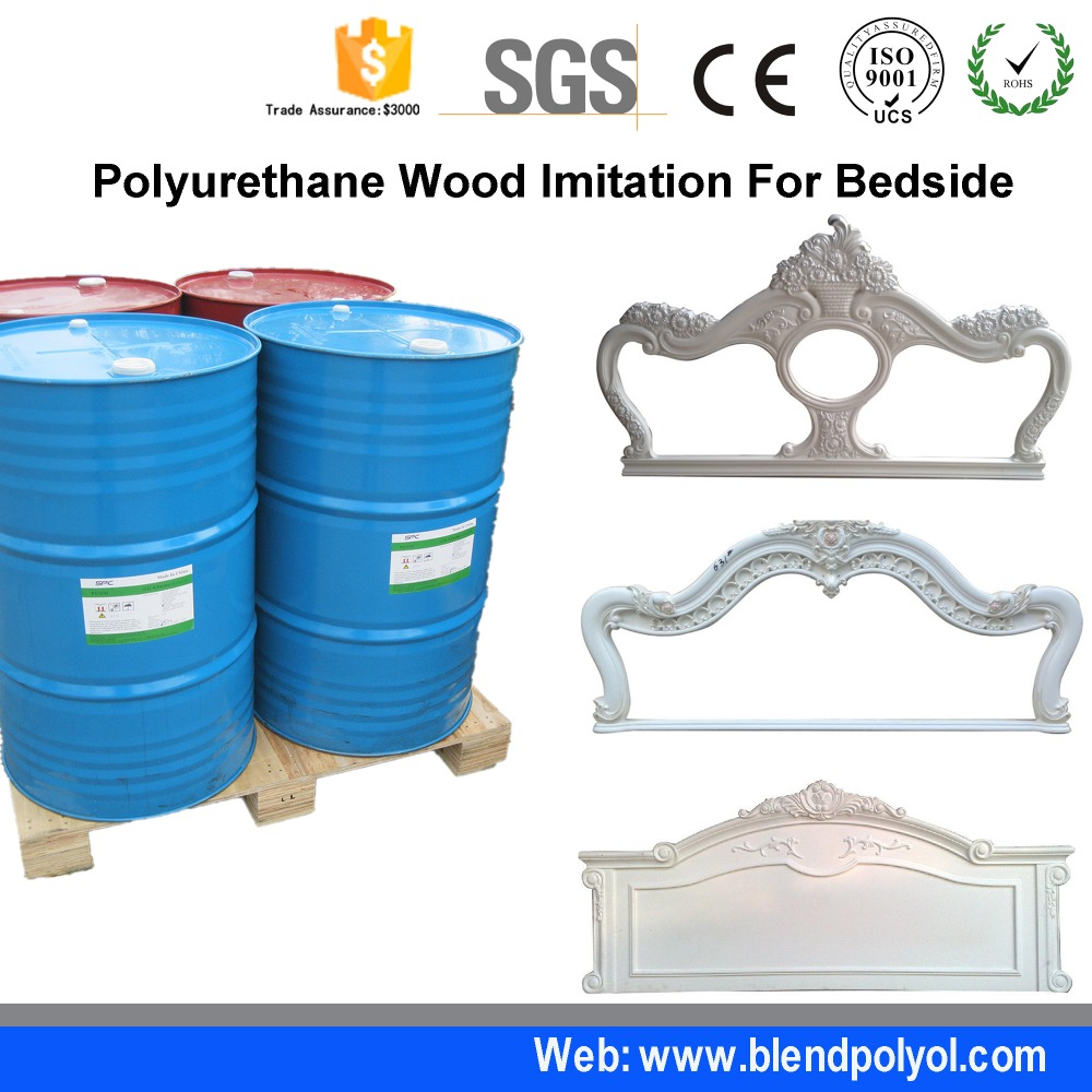 Two Component Polyurethane Resin For PU Foam Corbel Imitation Wood