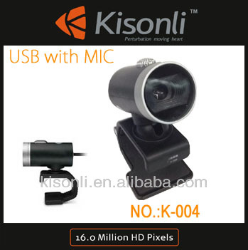 Best price usb 2.0 long tube webcam with night vision K-C004