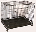 Conivent Pet Metal Cage With Wheels