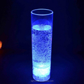 PS 450ml LED Long Drink Glass,LED Light Up Drink Cup,Wine Acrylic Cola Tumbler,450ml Tall highball glass LED