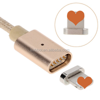 Magnetic charger Cable Stouch Magnetic Charger Cable Adapter 1M for iPhone 6S, iPhone 6S Plus 5 5S, iPad iPod (Charger and Sync)
