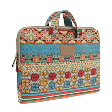 multi-function drop resistance colourful handbag ladies laptop bag