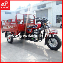 Egypt Good Quality Heavy Load 150CC Lifan Engine 4 Stroke Electric Motor Tricycle Cargo Trike