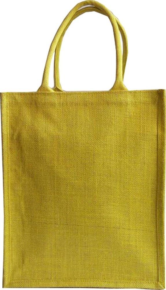 Eco Environment Friendly natural Jute burlap wine beer carrier bag (6 bottle bag)