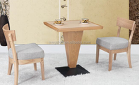 Square coffee table dining table chairs combination (FOH-BCA17)