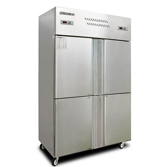 900L Upright Stainless Steel commercial freezer seafood <strong>refrigerator</strong>