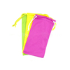 wholesale eyeglasses cases bags microfiber fabric soft sunglasses pouch