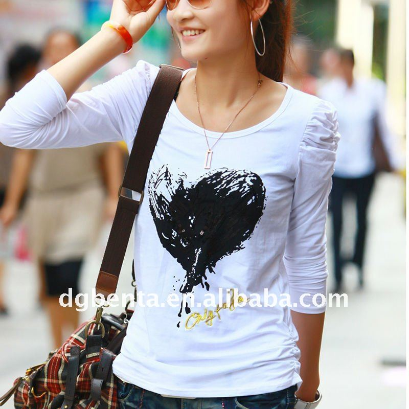 Hot!! white plain t shirts printing 100% cotton bulk blank t-shirts