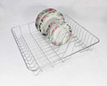544-64 kitchenware wire dish rack with plating