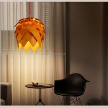 Best Price &Top Quality Art Deco Wood Pine Cone Pendant Lighting for Restaurant/Dinning Room