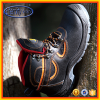 Eternity safety men shoes genuine leather