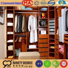 Top product ready to assemble bedroom furniture of wooden wardrobe