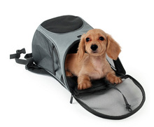 RoblionPet Outdoor Portable Backpack Dog Carrier, Screen Cloth Dacron Bag Carrier For Dog