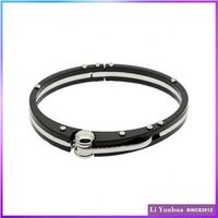 Hot Sell Stainless Steel Latest Designs Love Lock Key Bangle