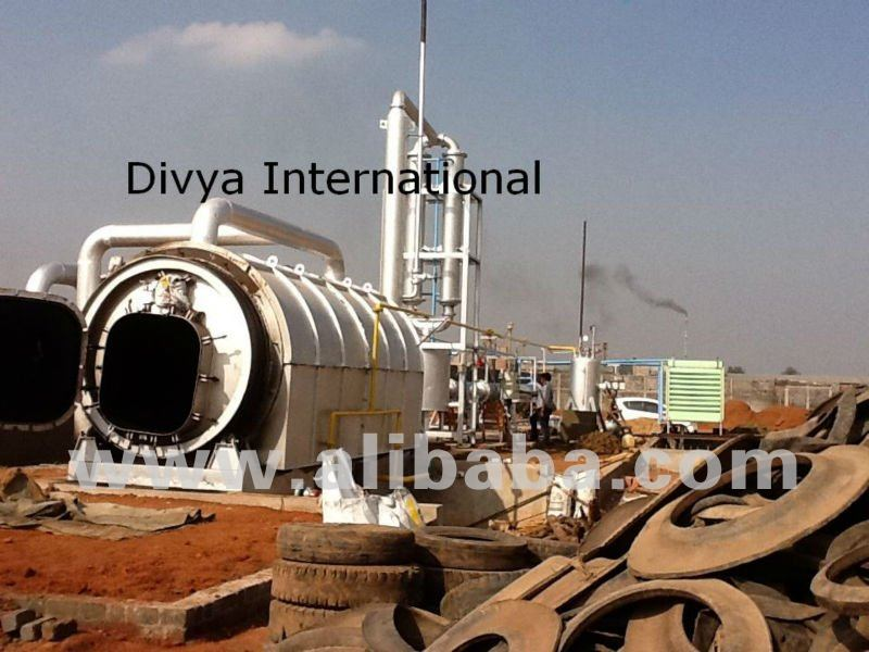 Pyrolysis Gas Production Unit