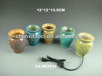 electric scented oil burners-decorative oil burners
