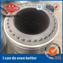 Steel joint plates lump in flange for concrete pile in Indonesia