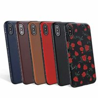 Premium New Style PU Leather Flip Wallet Case With TPU Shockproof Inner Shell