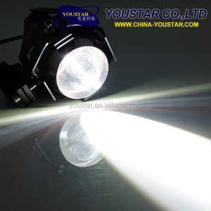 Motorcycle Led Lighting U7 15W 3000LM Waterproof Spot Light Led Motorcycle Lights