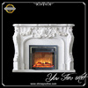 Fancy Indoor Used Marble Stone Fireplace Mantel