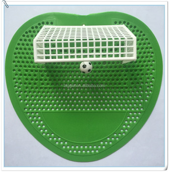 disposable funny and interesting sports themed soccer wave urinal screen