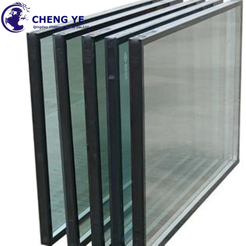 Competitive Prices Double Glazed Panel 6mm+14A+6mm Hollow Insulated Glass For Office Building