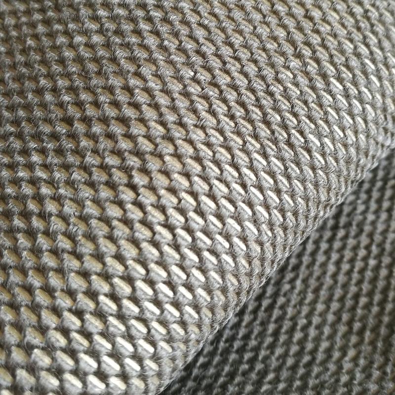100% Silver Fiber Non-Woven EMF/RF Shielding fabric/RFID blocking fabric that used for radiashield anti-theft backpack