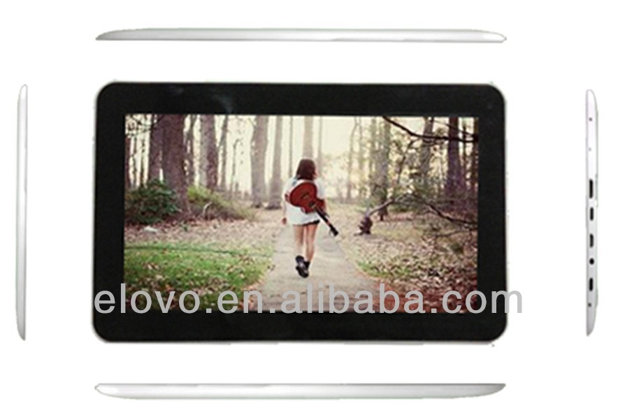 cheap dual cameras tablet 800*480 with multi-languages MIC