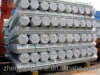 Reasonable price welded galvanized steel pipe for green house building