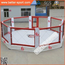 height platform competition quality octagon mma cage