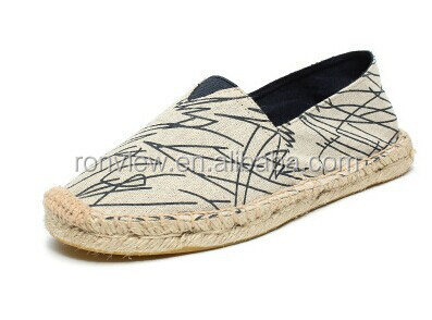 Canvas Espadrille Shoes and Casual Shoes Rope Sole Shoes
