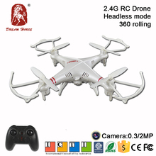 2.4G 4CH RC Drone Aircraft With HD Camera RC Plane Kit