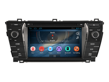 2 din car radio android for Toyota Corolla with DVD WiFi BT 3G gps navigation system