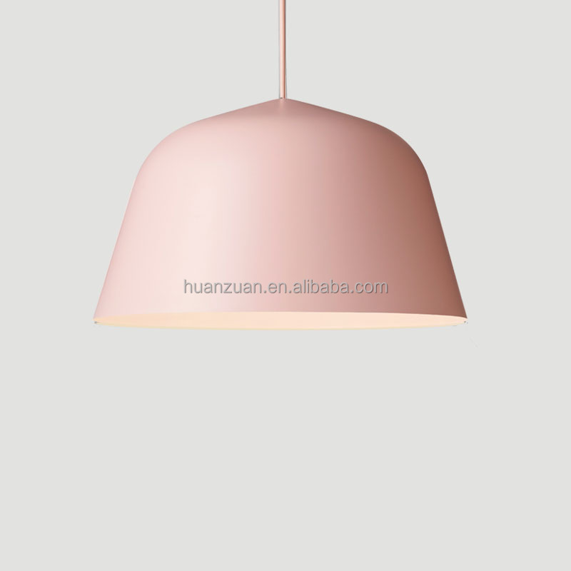 LED <strong>modern</strong> pendant lamp, Aluminum color hanging pendant light
