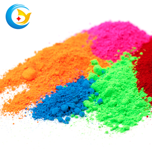 Pigment powder for inks plastic paint fluorescent pigment