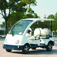 4 Seater Police Golf Cart with CE certificate DN-4P from China
