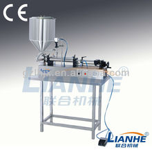 Pneumatic Self-suction ointment&liquid Filling Machine,liquid Filling machine,Shampoo liquid soap Filling Equipment
