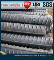 good quality price steel rebar/deformed steel bar/reinforced steel