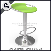 2015 new style colorful ABS plastic bar stool from Anji