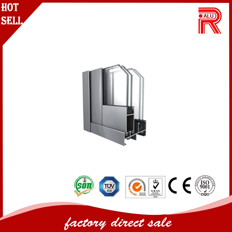 shower door frame parts and aluminium led light