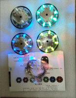 Car Light Wheels For 2014 New product driving at night safety wheel car light for universal car wheel light