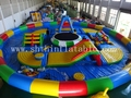 EN14960 inflatable water park,inflatable water obstacle course for sale